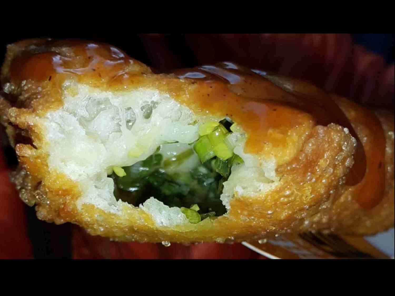 【蔥油餅推薦】狗骨頭 の 蔥油餅(台中/西屯) ➽ 喜歡吃蔥油餅新選擇  – 五辛素(已歇業)
