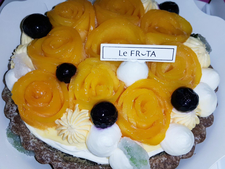 【甜點推薦】朗芙 の 花神芒果塔 ➽ 夏季特產芒果甜點系列 IV – 蛋奶素