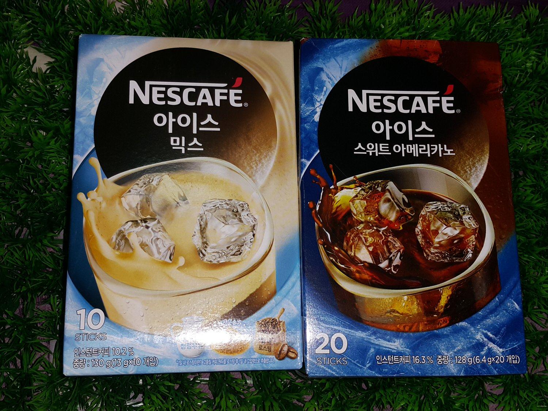 ➽沖泡。推薦 超級省錢又消暑 冷水沖泡就可以的 Nescafe雀巢咖啡 の 雀巢三合一冰咖啡 & 雀巢美式冰咖啡 – 全素 / 奶素