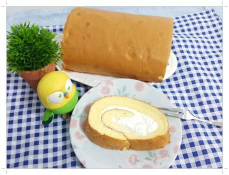 【蛋糕推薦】百五手作 の 棉花糖生乳捲(原味) ➽  內餡飽滿 口口都滿足 – 蛋奶素