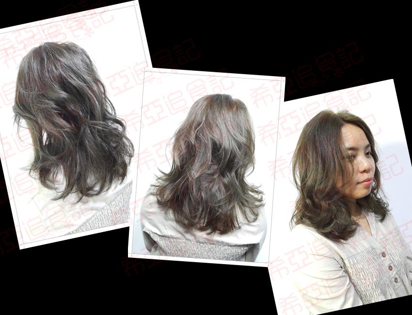 ➽體驗。台中染髮推薦 中科福科路 下班後來改變妝髮 放鬆一下 Wesley Danyin Hair Salon W.D. II の 染髮 & 護髮(灰感綠)