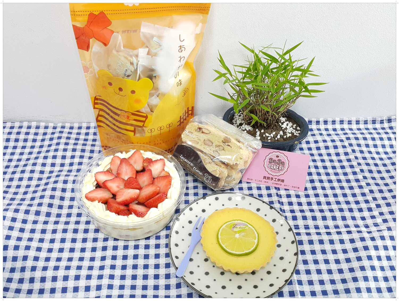 【甜點推薦】貝貝手工烘焙の 草莓千層 & 檸檬塔 &  雙莓雪Q餅 & 義式堅果Biscotti(脆餅) ➽ 超綿密的草莓千層 永遠吃不膩 – 蛋奶素