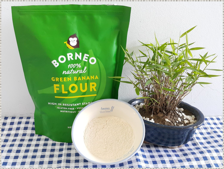 ➽料理。 想要增添自製烘焙麵包風味 可以嘗試看看 喜美農業 の 100% BORNEO 天然綠蕉粉 – 全素