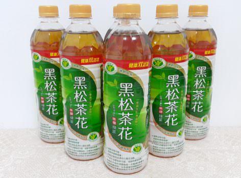 ➽飲料。超級推薦 自然、健康、清爽的無糖綠茶 黑松 の 茶花綠茶