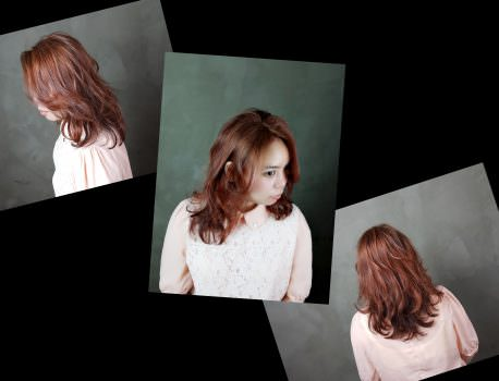 【台中染髮推薦】原來還有工業風的美髮沙龍 超級有特色 ➽ CLITZ HAIR の 染髮 & 護髮 (橘紅色)