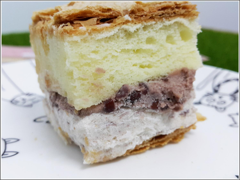 ➽團購。超級推薦 夏天就是要吃冰涼甜點 拿破崙先生 の 骰子拿破崙紅豆牛奶冰淇淋 – 蛋奶素