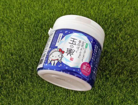 ➽保養。各種天然水果萃取 全身肌膚皆可用  豆腐盛田屋 の 玉之輿豆乳優格面膜