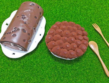 【蛋糕推薦】生乳捲團購熱銷第一 經典巧克力系列 ➽ 亞尼克 の 黑魔粒雙漩 & 松露巧克力派塔 – 蛋奶素