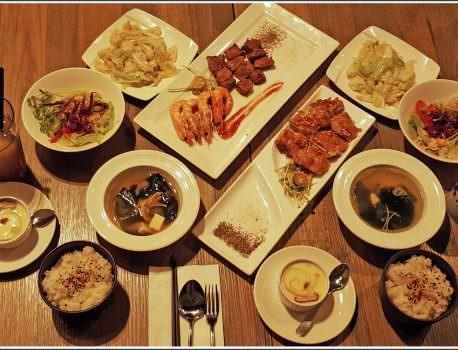 【鐵板推薦】台中平價鐵板燒推薦 日式鐵板料理 與朋友聚餐的好地方 ➽ 岩谷新鐵板料理 の  858雙人海陸全餐  (台中/東區)