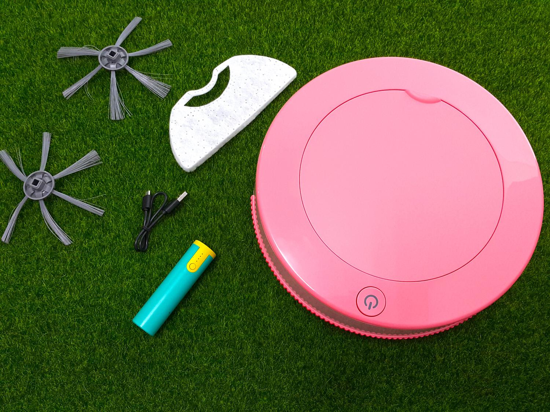 【掃地機器人分享】iCLEAN淨系列 の 小粉甜甜圈掃地機器人(草莓紅) ➽ 小資女居家必備 隨時隨地輕鬆掃地- 內附影片