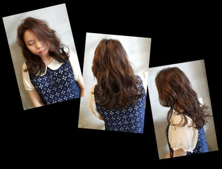 【台中染髮推薦】Flora Hair の 染燙剪髮(亞麻棕綠) ➽ 台中西屯髮廊  裝潢復古歐風 設計師親和力十足 髮型設計
