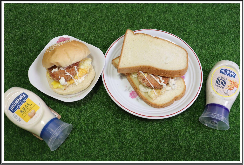 【中式早餐,美乃滋推薦】Hellmann's の 美乃滋(經典原味) & 巴西利蒜香醬 ➽ 美味又快速,早餐不能沒有它陪伴