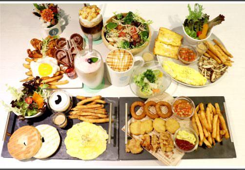 【台中西區早午餐推薦】Chow Chow Cafe 巧巧咖啡 の 莎莎歐姆蛋佐香料炒野菇 & 很滿意套餐 & 紐奧良楓糖炸雞鬆餅 (台中/南屯區) ➽ 回訪巧巧咖啡,一起享受早午餐與輕食下午茶