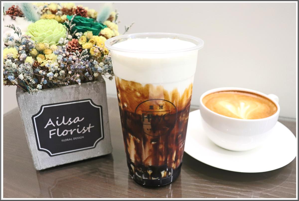 【台中西屯咖啡推薦】黑沃咖啡の 黑糖黑玉拿鐵 & 拿鐵咖啡& 沃-聖曲 & 紅茶拿鐵  (台中/西屯區) ➽  2019台中珍奶總冠軍就在台中 – 奶素