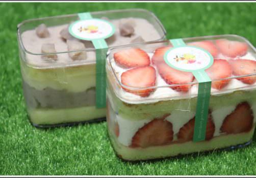 【桃園下午茶推薦】小初心法式甜點 の 草莓小巴 & 芋見小巴 ➽ 就是只要芋頭和草莓,甜滋滋好美味