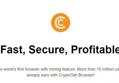 【網賺分享】CryptoTab の 比特幣挖礦 ➽ 比特幣免費拿,只需要開著瀏灠器就好。(內含出金記錄)-2021/01/07更新
